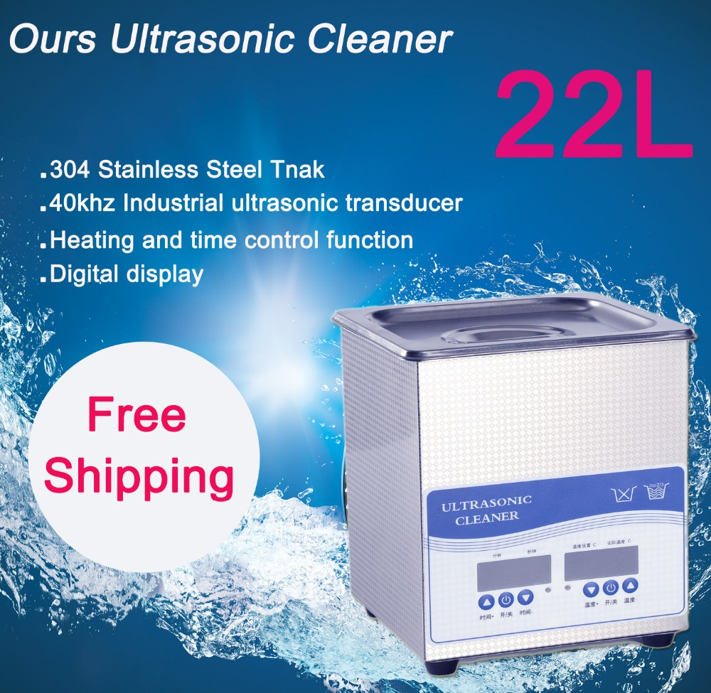 20L Ultrasonic Cleaner 480W Free Shipping price includes cleaning basket 2l 60w digital ultrasonic cleaner 110v and 220v 40khz free shipping price includes cleaning basket