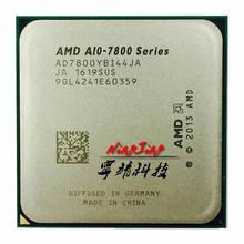 Amd A10-Series A10-7800 a10 7800 3.5 ghz processador cpu quad-core ad7800ybi44ja/ad780bybi44ja soquete fm2 +