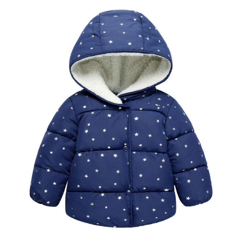 girl winter jacket boy warm hooded coat 12m 5t children fashion cute clothing kid cute clothes girl new long sleeve outerwear Baby Outerwear Autumn Winter Baby Boy Girl Clothes Long Sleeve Children Clothing Solid Hooded Kids Clothes Soft Comfortable Coat
