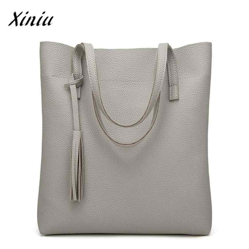 f87d1ef9a984 ... USPS XINIU Best Selling Women's Crossbody Bag Clips Colors Casual Large  Capacity Shoulder Bag Tassel Bucket ...