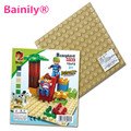 1 unids Grandes Bloques Placa Base 19.2*19.2 cm Placa Base 100% Compatible con Legoe Duploe Niños Juguetes Educativos del Ladrillo Placa de bloques