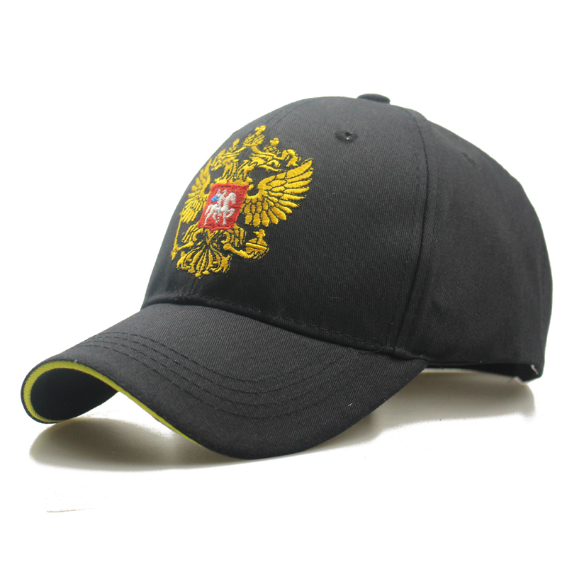 Double Headed Eagle Russian Emblem Embroidery Cotton Women Baseball Cap Snapback Dad Bone Hats For Men Women Bone Patriot Caps tqmsmy cotton bone embroidery sun hats for men snapback caps scorpions cap women s spring baseball cap women truckers gorros