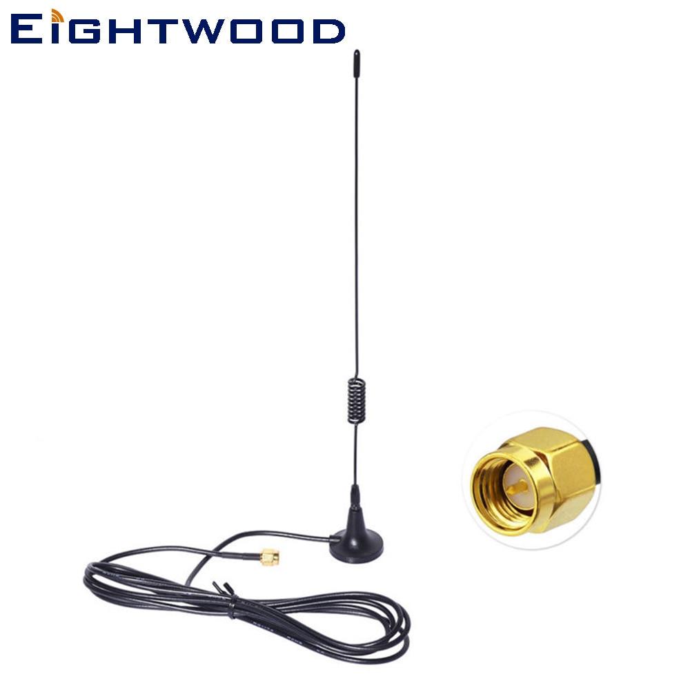 Eightwood 868 Mhz 915 Mhz Z-welle Smart Home Magnetische Basis Sma Antenne Für Homematic Ccu1 Ccu2 Ccu3 Fibaro Home Center Mit Einem LangjäHrigen Ruf