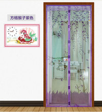 1PC Durable Door Curtain 1*2.1m Summer Mesh Mosquito Prevent Door Screen Kitchen Window Curtains tulle door screens 4 Colors