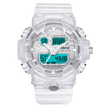 2019 New Fashion Mens Sports Digital Quartz G Shock Luminous Alarm Clock Electronic Watch Waterproof Wristwatch