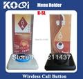 Niza K-SL menú sostenedor Fit para KOQI sistema de botón de llamada
