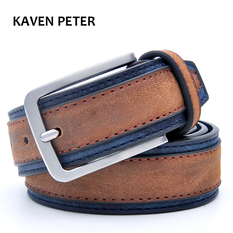 Casual Patchwork Men Beltss