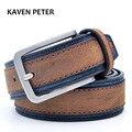 Casual de los hombres diseñadores de lujo de los hombres de moda cinturón tendencias pantalones con tres colores para elegir envío gratis