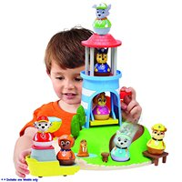 Original Weebles Seal Island Playset Tumbler Animal Series Toys Boy Gift Slide Combination Set Marshall Playability