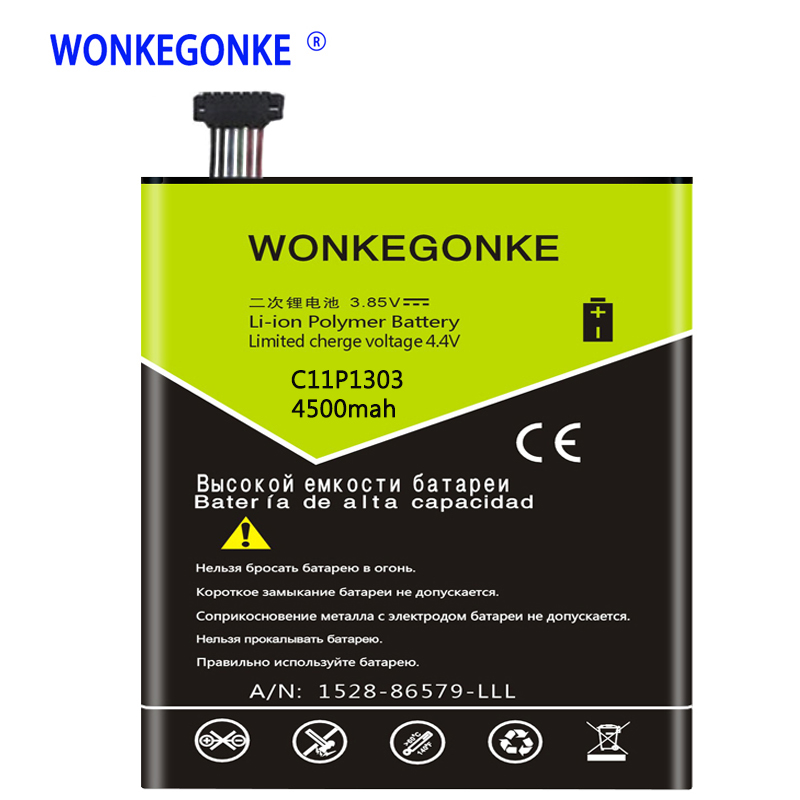 WONKEGONKE C11P1303 For Asus Google Nexus 7 ii 2 2nd Gen Version Batteries Bateria