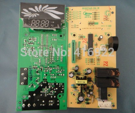 Free shipping 100% tested for Midea Microwave Oven computer board EGXCCA3-01-R EGXCCA3-03-K EGXCCA3-04-K mainboard on sale free shipping 100% tested for sanyo washing machine board xqb46 466 motherboard on sale