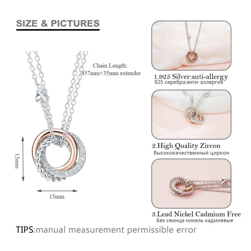 SA SILVERAGE 925 Necklaces të gjata me argjend të gjata, varëse - Bizhuteri të bukura - Foto 5