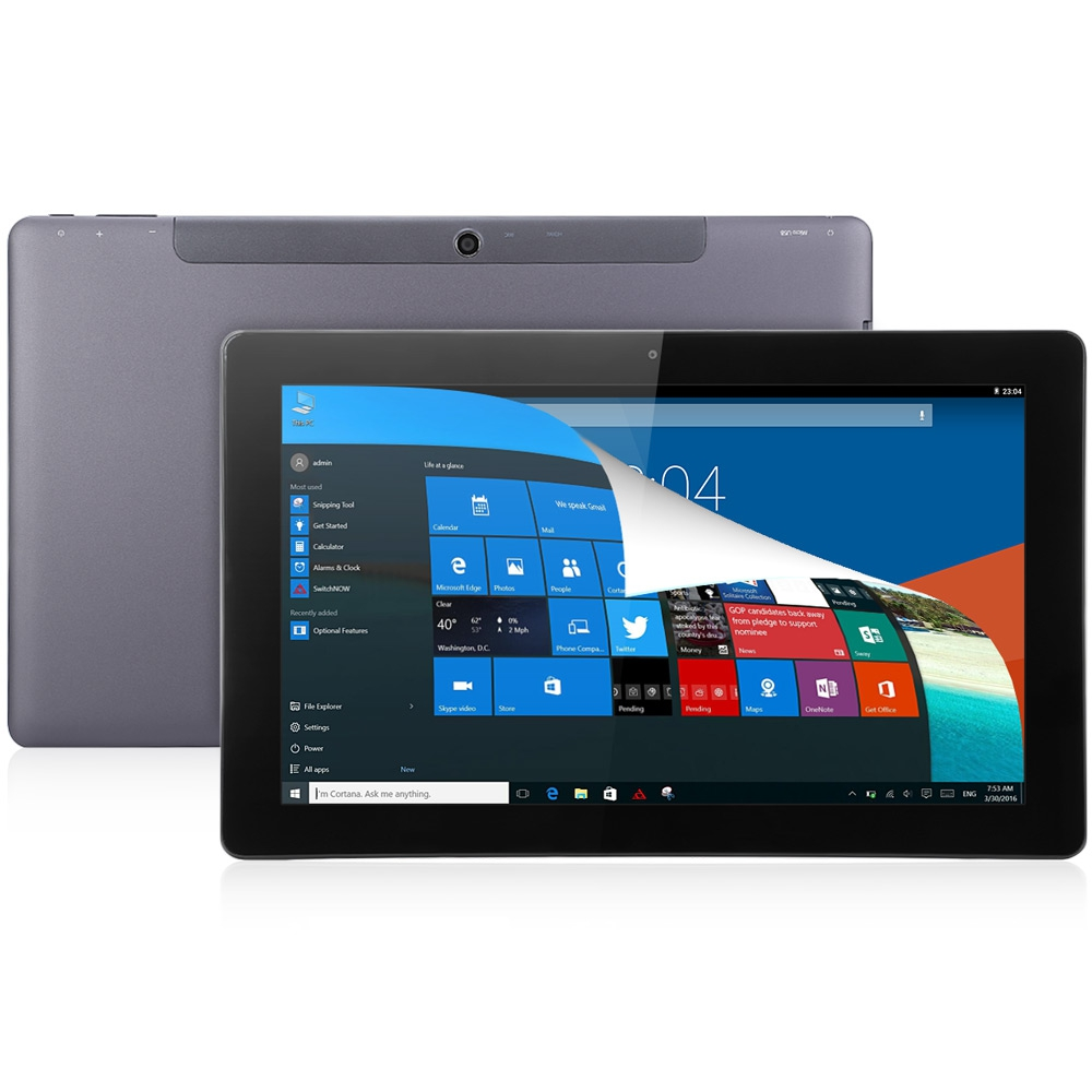 10 6 inch teclast tbook 11 tablet pc windows 10 android 5 for 2 window in 1 pc