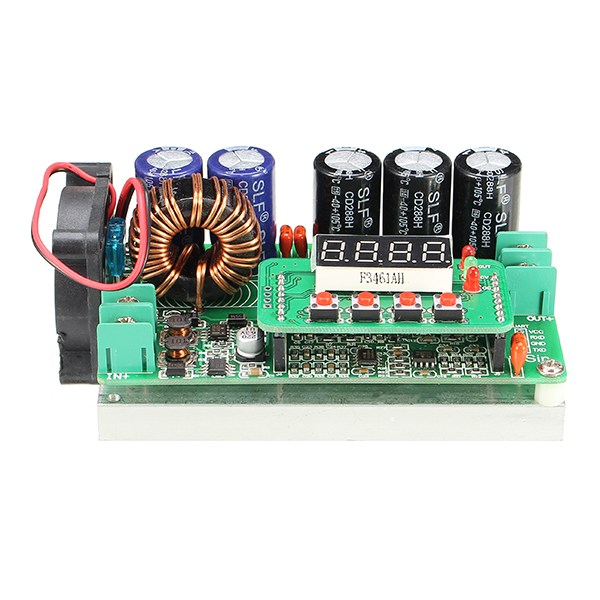 Hot Sale 1PC 600W Digital Control DC DC Adjustable Step Up Module Constant Voltage Current Solar Charging Module Board-in Integrated Circuits from Electronic Components & Supplies