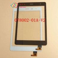 7.85 polegada para Ostras T84 3G tablet pc tela de toque capacitivo painel de digitador de vidro