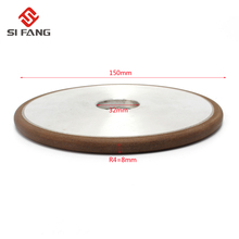150mm Diamond Grinding Wheel Grinding Disc Saw Blade PH 150 Grain Mill Sharpening Grinding Wheel Rotary Abrasive Tools R4 цена и фото