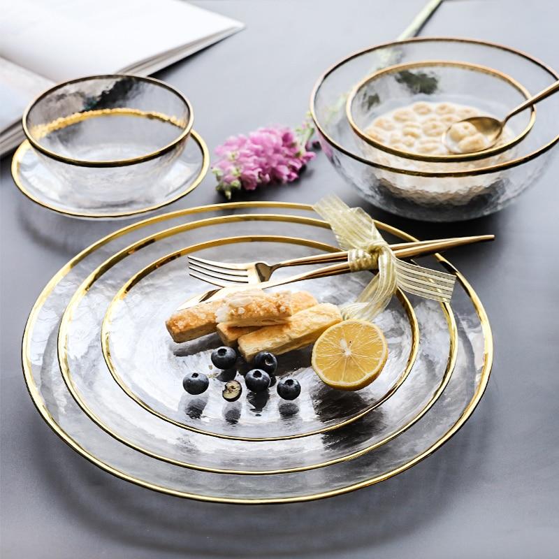 Western Salad Dishes: Aliexpress.com : Buy Ins Phnom Penh Glass Tableware