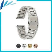 Ремешок из нержавеющей стали для часов браслет longines l2 l3