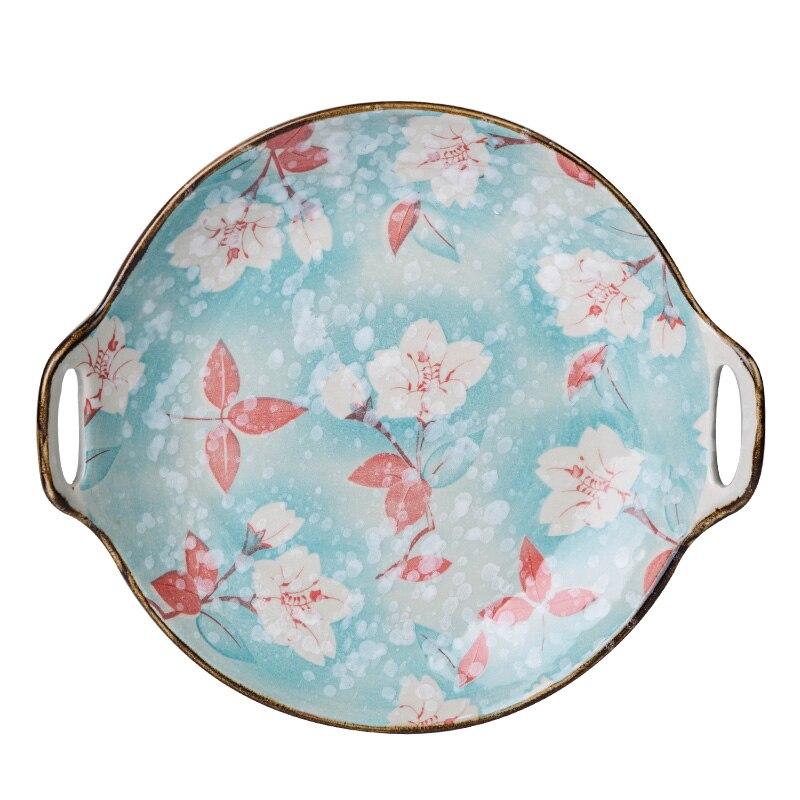 Giapponese Fiocco Di Neve Smalto Magnolia Serie Di Ceramica Da