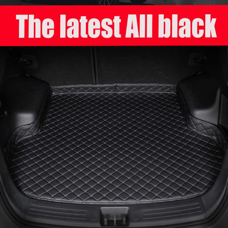 איפור מיוחד לרכב תא מטען מחצלות עבור מאזדה 3 Axela 6 Atenza מושלם מקרה כבד החובה שטיח שטיחים אנטי להחליק ספינות (2004-)