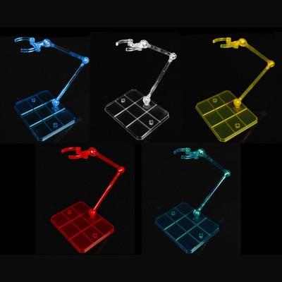 4 colors Action Base Suitable Display Stand Bracket for 1/144 HG/RG Gundam/Figure Animation cinema game ACG model fans freeshipping gundam model hg 1 144 sinanju msn06s unicorn gundam