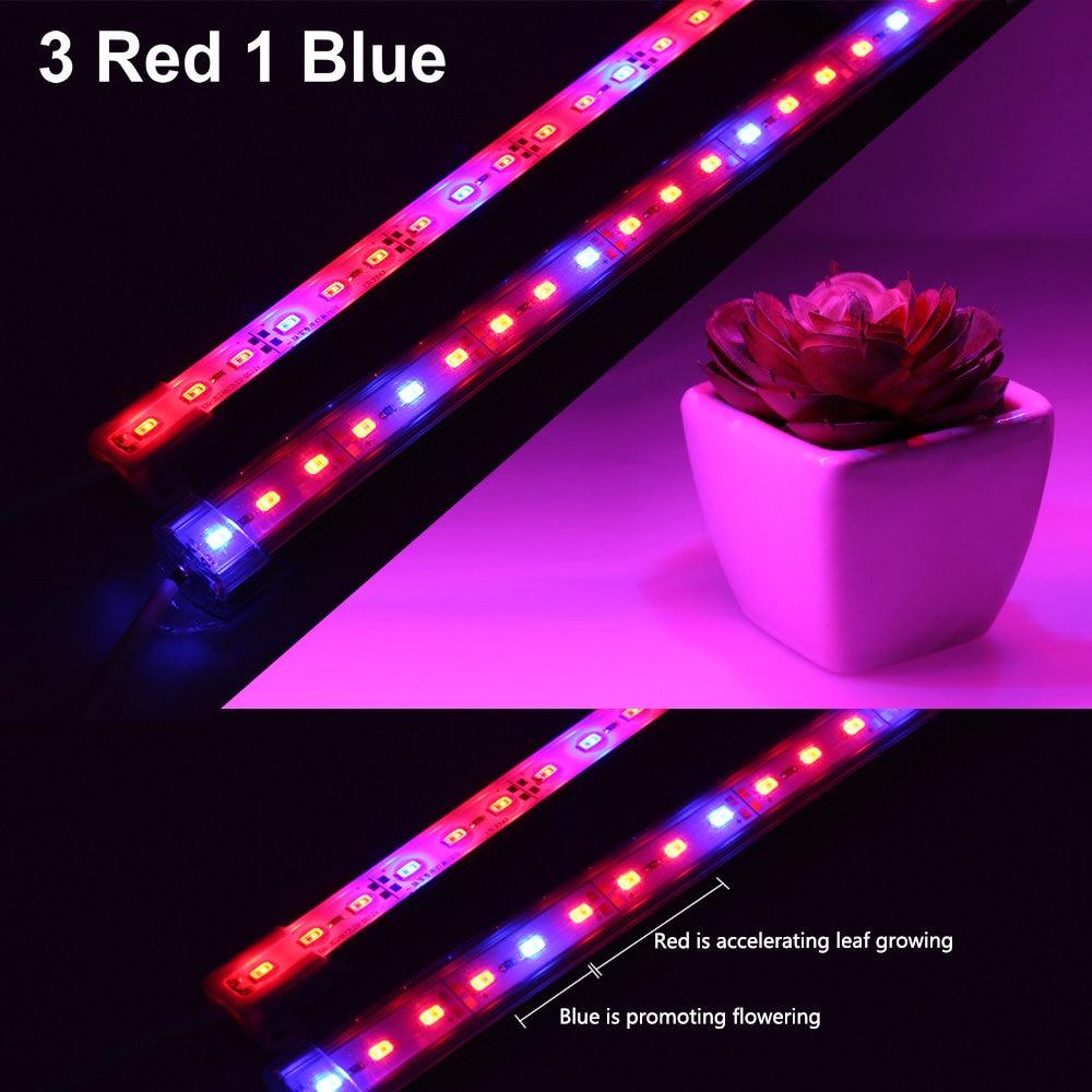 DC12V 5630 Led Bar Rigid Strip IP68 Waterproof LED Grow Plant Growing Light Red Blue 3:1 For Aquarium Greenhouse Hydroponic