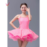 Green/Pink Party Wedding Dress Nice Ballet Dress Bailarina Balet Professional Dance Disfraz Infantil Girls Ballet Tutu Dancing