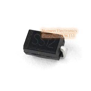 100pcs ss12 sma 1n5817 smd 1A 20V do-214ac Schottky diode