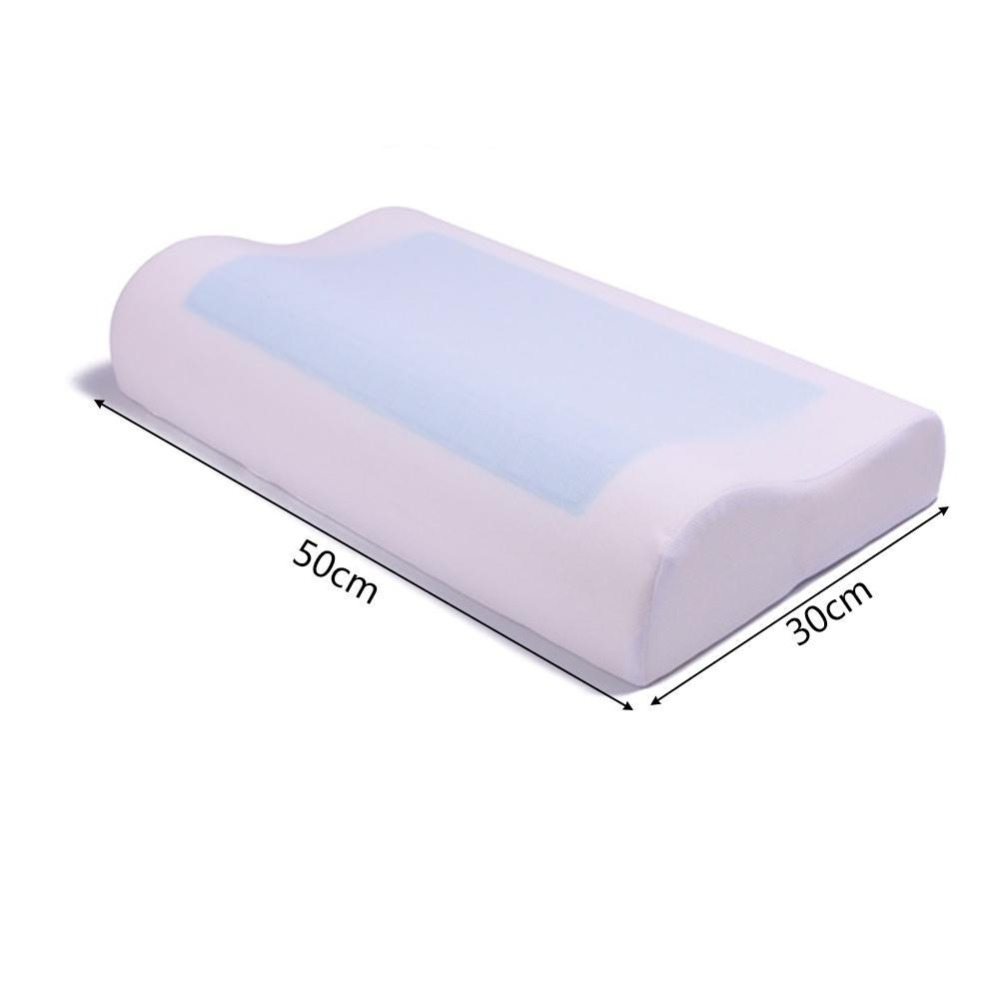 Memory Foam Sleeping Pillow Cooling Gel Bed Pillow Cervical Protect Orthopedic Pillows Dropship and Wholesale Available in Body Pillows from Home Garden