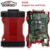Лучшая цена для Ford VCM IDS 2 VCMII OBD2 код читателя сканирования полный чип PCB VCM2 SW для Ford V101 VCM IDS диагностический сканер