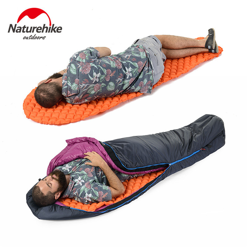 Outdoor Camping Mat Air Mattress Moisture Proof Mat Single Pads With Pillow Lightweight Sleeping Pad Mat Single-in Camping Mat from Sports & Entertainment    1