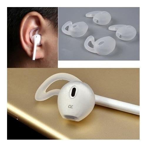 Silicone Sport Conseils (2 paires) pour la Pomme Earpods et Écouteurs Compatible avec iPhone 7/6/6 S/6 Plus/5S/5C/5 écouteurs
