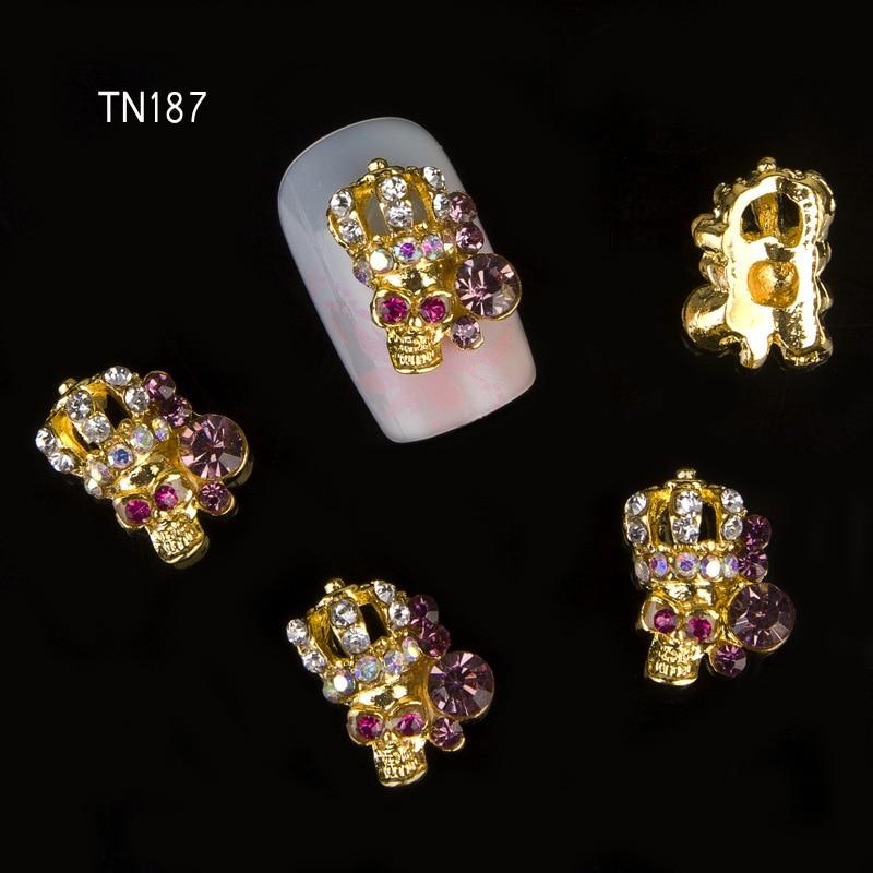 Transparente de las tiras de forma de rectángulo de diamantes de imitación perla De Cristal De Vidrio Metalizado punto posterior