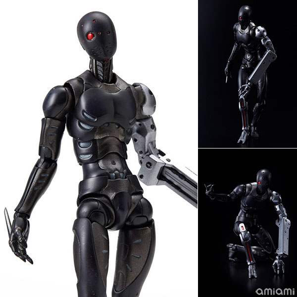 29cm Heavy Industries Sentinel 1000 Toys 1/6 CaRB Synthetic Human Experimental PVC Figure Collection Model Toys