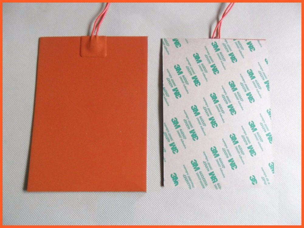 150x100mm 80W 220V Silicone Heater mat Heating Element heating plate Electric pad For Metal plastic pipe thermal insulation pad 180x130mm 90w 12v silicone heater mat heating element heating plate electric heating pad for high speed copier ink