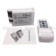 New DM014 High Voltage 90-240VAC 1 Channel Trailing Edge Dimming 110V/110W 220V/220W ON/OFF 3 Key Remote LED RF Dimmer Control