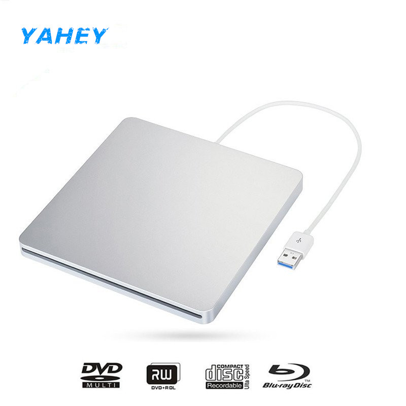 Ship from Europe USB 3.0 Blu-ray BD-RW Player Slot Load External DVD Burner Bluray Drive DVD RW Writer for Apple Laptop Computer cheap desktop pc computer internal sata blu ray drive for panasonic sw 5583 super multi 4x blue ray burner 16x dvd rw ram writer