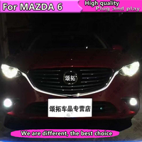 Car Styling LED GRILLE light for MAZDA 6 ATENZA 2017 2018 LED DRL FOR New Mazda 6 grille led daytime light