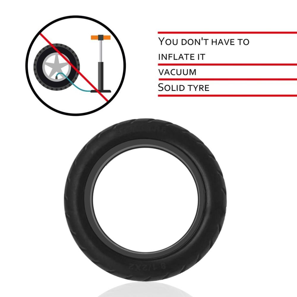 New Solid Vacuum Tires 8.5