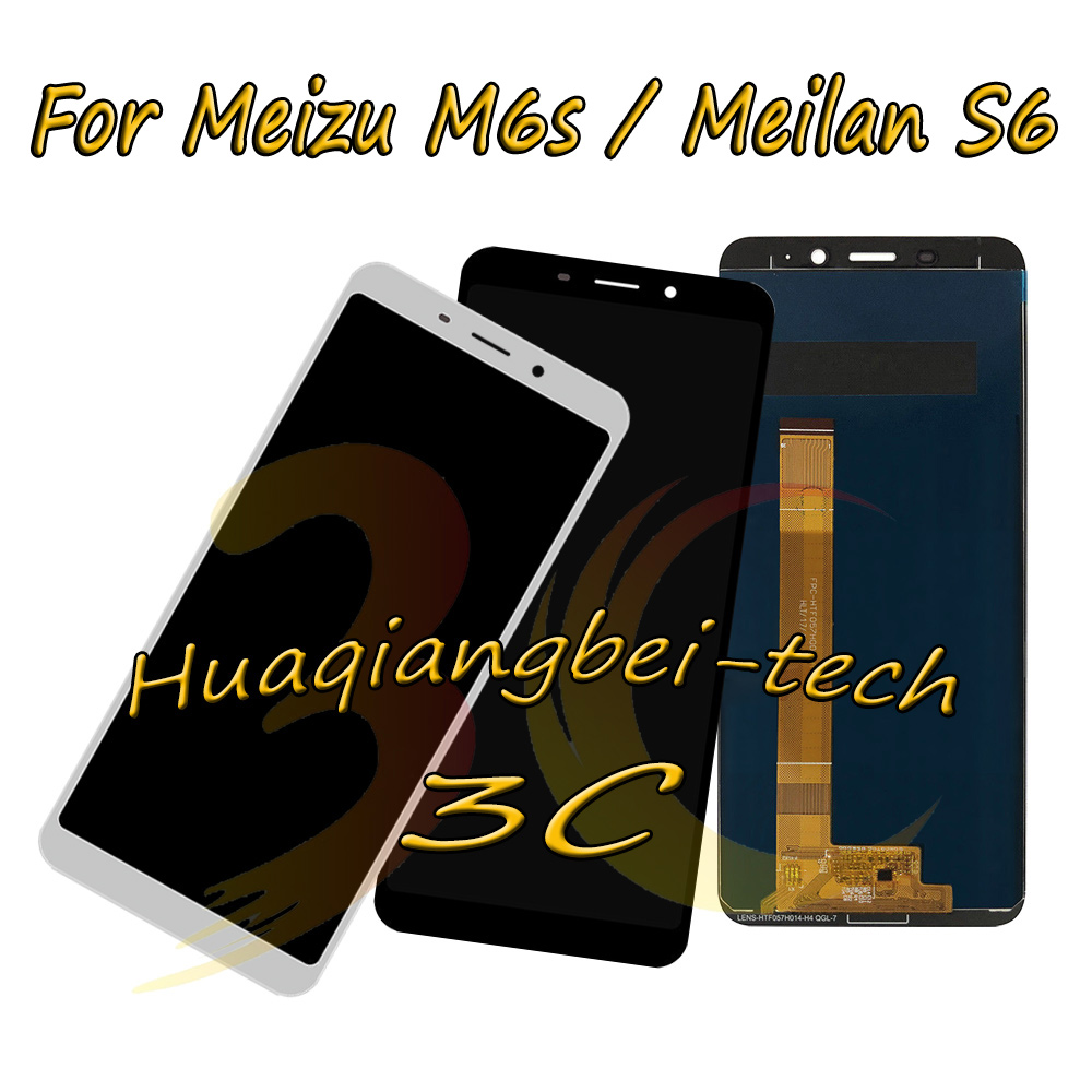 5.7 New Black / White For Meizu M6S / Meilan 6S Full LCD DIsplay + Touch Screen Digitizer Assembly 100% Tested5.7 New Black / White For Meizu M6S / Meilan 6S Full LCD DIsplay + Touch Screen Digitizer Assembly 100% Tested