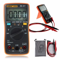 ANENG AN8000 Portable Digital Multimeter 4000 Counts LCD Display Auto Range AC DC Voltage Ammeter