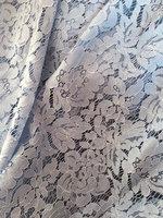 light blue lace fabric, cord lace fabric, alencone lace fabric, 1.5 yrds