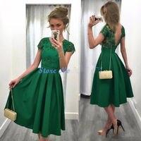 יופי זול גבוהה נמוכה נשף שמלות 2017 מסיבת סיום שמלות קו מתוקה שיבה הביתה שמלה קצרה שפתוחה ארוך בחזרה F931