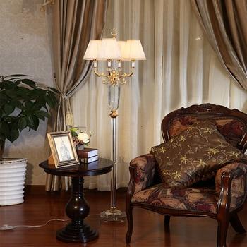 Lampadaire chambre liseuse lampadaire moderne chevet cristal lampadaire fait main lampadaire salon luminaire sur pied