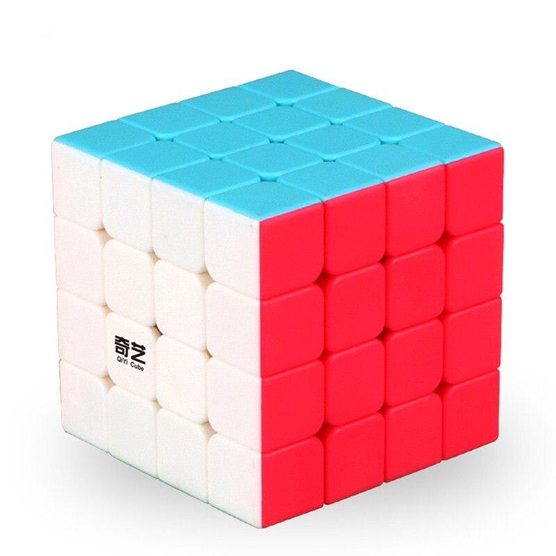 2017 Nuevo QiYi Yuan S 4x4 cubo mágico rompecabezas Speed cubo