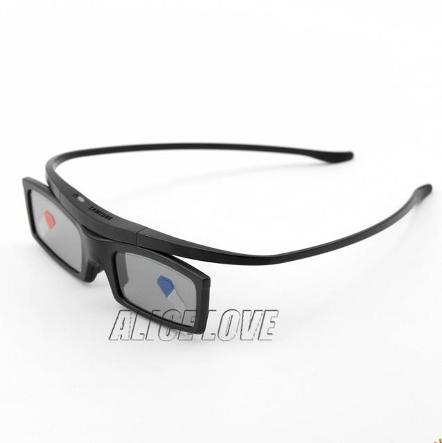 2 pcs new bluetooth óculos 3d do obturador ativo para samsung ssg-5100gb 3 papelão tv dtv universal frete grátis
