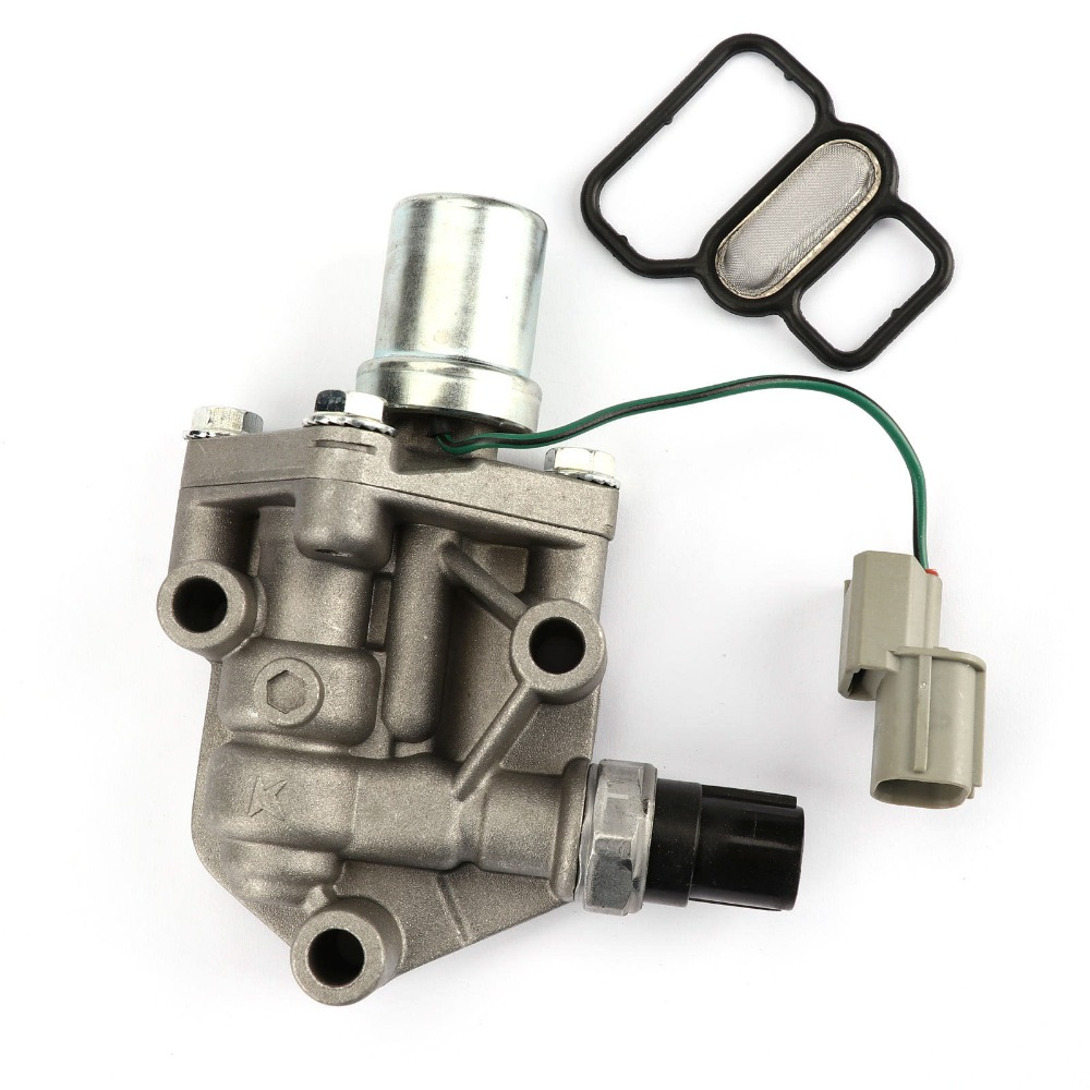 TAIHONGYU VTEC Solenoid Spool Valve Direct Replacement Fit For Honda Civic 1.7L 2001 2002 2003 2004 2005 15810PLRA01