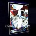 Quadro na parede de acrílico, Cristal levou caixa de luz fino exibição a3 tamanho