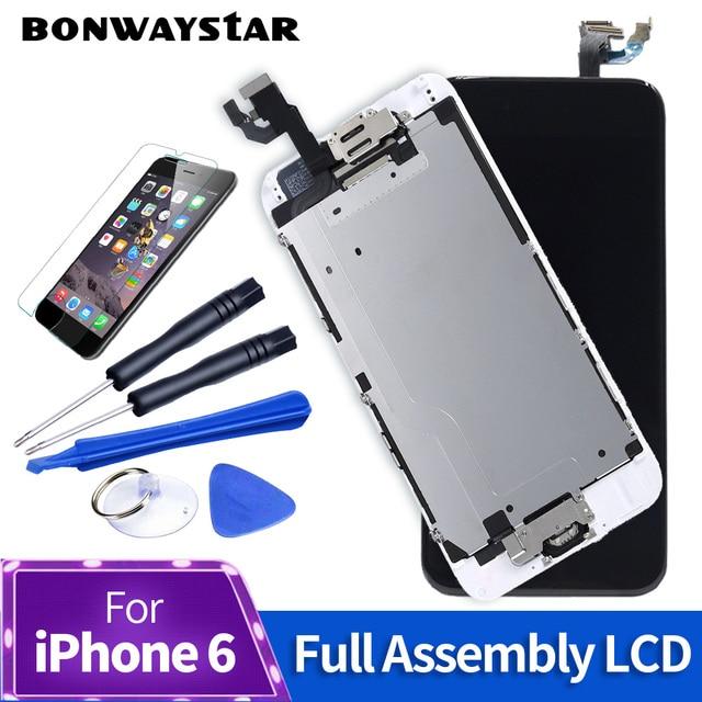 Aaa + + + Scherm Voor Iphone 5S 6 7 8 Lcd Volledige Vergadering Compleet 100% Brand Nieuwe Pantalla Voor Iphone 6 6S Lcd Met Camera En Sensor