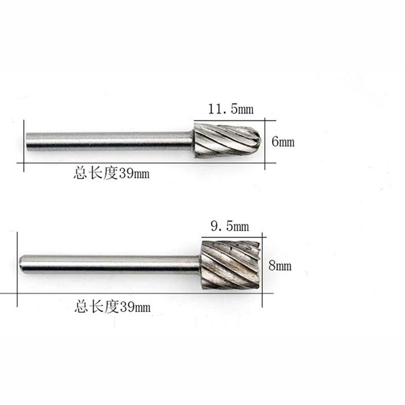 6tk mini driil puidutöötlemise käsitööriistad ruuteriotsad - Puur - Foto 5